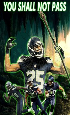 You shall not pass on the Seattle Seahawks LEGION OF BOOM!