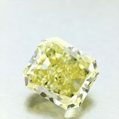 Shape: Radiant | Weight: 7.6ct | Color: Fancy Intense Yellow | Clarity: VS1 | LAB: GIA | http://download.certimage.com/Certificates/PP1575-01.pdf  #fancycolordiamonds #middiamonds #fancy #diamonds #diamond #mid #Radiant #GIA