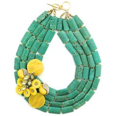 In Cheerful Company necklace by Elva Fields