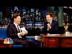 Benedict Cumberbatch And Jimmy Fallon Do Their Very Best Alan Rickman Impressions. Oh Ben. This is why we love you. I wish I knew he was on or I would've watched him (that sounds a little stalker-ish, I know) but I sadly didn't know.