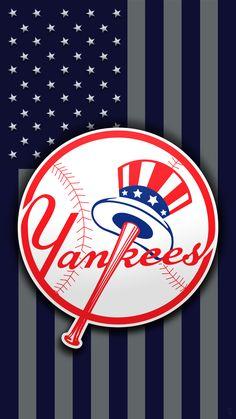 New York Yankees New York Yankees Stadium, Yankees Logo, Damn Yankees, Yankees News, New York Yankees Baseball, Yankees Fan, Baseball Art, Baseball Wallpaper, Mlb Wallpaper