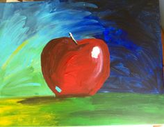 My apple art