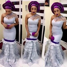 If you love 2018 Ankara, lace and other fabrics that are African related then you would love our aso ebi style category which brings you the latest style trends for every occasion. African Dresses For Women, African Attire, African Fashion Dresses, African Women, Ghanaian Fashion, African Wear, Nigerian Fashion, African Outfits, African Clothes