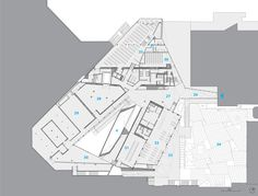 Herta and Paul Amir Building at Tel Aviv Museum of Art By Preston Scott Cohen INC-Level -1 floor plan