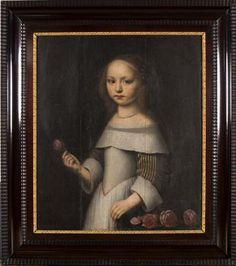 Anonymous, portrait of Titia van Burmania, 1655, Leeuwarden, Fries Museum