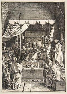 Albrecht Dürer | The Death of the Virgin, from The Life of the Virgin | The Met
