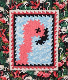 Flo Bo Quilt Pattern LOB-139 (advanced beginner, wall hanging)