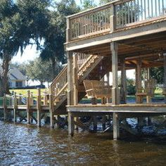 Two Story Dock Design