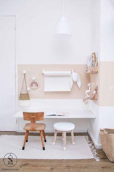 Met deze tool tover je razendsnel een strakke lambrisering op de muur – Wandgestaltung ideen With this tool you can quickly create sleek paneling on the wall # Children's room
