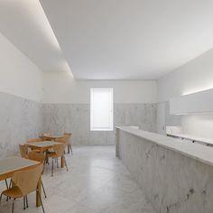 #TOP2016 Abade Pedrosa Museum by Álvaro Siza, Eduardo Souto de Moura. Photo by @joaodmorgado Read more on divisare.com #divisare #architecture #portugal #santotirso #bar #lessismore #marbles #museum #restored #reused #stone #floor #alvarosiza #eduardosoutodemoura