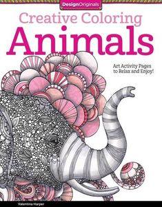 Arte-terapia: Creative coloring animals