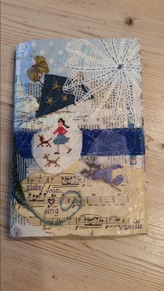 Do you see the story on this mixed media notebook cover? Available at Facebook : hartelief.folkore.lifestyle.fashion