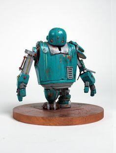 https://www.behance.net/gallery/17556041/Pandora Pandora, a friendly steampunk robot by Andrew Wierzba