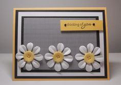 tamijo- thinking of you daisies by tamijo - Cards and Paper Crafts at Splitcoaststampers