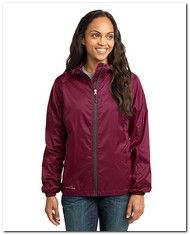 As Low As $29.69 > Eddie Bauer EB501 Ladies Packable Wind Jacket - Available Colors:6, Size Range:XS - 4XL