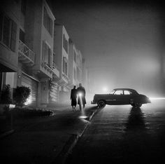 Fred Lyon Foggy Night at Land's End 1953