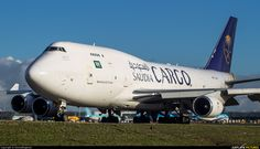 High quality photo of Saudi Arabian Cargo Boeing 747-400BCF, SF, BDSF by DennyRingenier. Visit Airplane-Pictures.net for creative aviation photography.