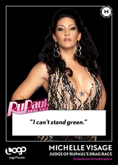 RuPaul's Drag Race TRADING CARD THURSDAY: Michelle Visage