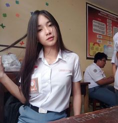 Cewek SMA Indonesia Cute Asian Girls, Beautiful Asian Girls, Cute Girls, Indonesian Girls, Sporty Girls, China, Only Girl, Young And Beautiful, Beautiful Women