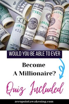 Is the brain of a millionaire person going to look different on an encephalogram machine? Likely not. So what it really takes to have a millionaire mind? Discover it throught the seven millionaire mind hacks and take the Quiz made by Dr Steve G Jones, Worldwide Recognized Hypnotherapist to know if you have the millionaire brain you need to succeed. #hypnosis #millionairemind #lawofattraction