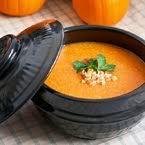 korean hobak jook - pumpkin porridge