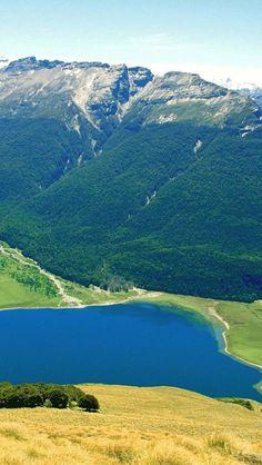 Paradise, Lake Wakatipu, Otago, South Island, New Zealand,