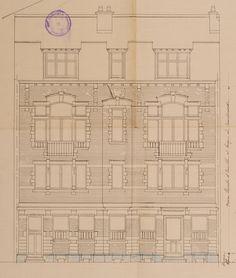 Schaerbeek - Avenue Eugène Plasky 67, 69, 71, 73 - PUISSANT Adolphe