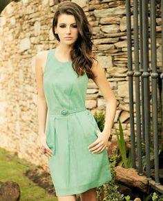 Modelagem Corte e Costura Cléo Alves : Vestido Tubinho , Passo a Passo Com Molde.