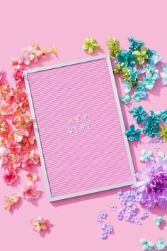Pink Letterboard