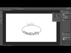 How to add Text on a Curve in Photoshop – Morgan Burks