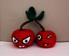 Nyela's Nook: Plants vs. Zombies inspired Cherry Bomb