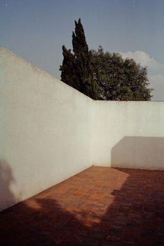 Azotea de la casa-estudio de Luis Barragán