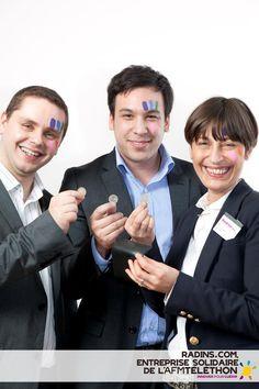 Radins.com, entreprise solidaire du Téléthon 2012    Crédit photo : AFM/Christophe Hargoues