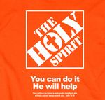 """You can do it %2D He will help!""""Then I will ask the Father to send you the Holy Spirit who will help you and always be with you.""""John 14:16Product Information : Comfortable fitting cotton tee shirt keeps you incredibly comfortable. Contemporary designs with catchy/powerful Christian messages so you can share your faith. Fashion forward designs keep you looking fabulous in your Christian T%2Dshirt. The right blends of Faith and fashion that reflects your unique style."""