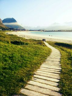 Ramberg, Lofoten - yes there are beautiful beaches too!