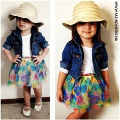 14 Super Cute Stylish Little Girls | Baby girls, Summer and Too cute