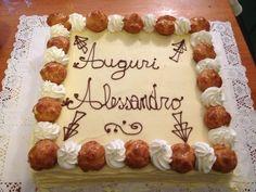 La cucina di Daniela: Saint honoré 18 compleanno Alessandro