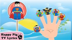 Lollipop Lego Super Heroes Finger Family \ Nursery Rhymes Lyrics and Rhymes Lyrics, Happy Pig, English Time, Finger Family, Nursery Rhymes, Lego, Early Elementary Resources, Legos