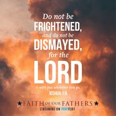 God is with us wherever we go. He is always watching over you. Watch Faith of Our Fathers now on Flix! Start your free… Christian Encouragement, Encouragement Quotes, Faith Quotes, Bible Quotes, Christian Life, Christian Quotes, Faith Of Our Fathers, Prayer Scriptures, Spiritual Messages