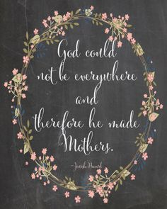 Mother's Day Card - Card For Mom - Chalkboard Art - Hand Lettering and Illustration By Valerie McKeehan- Chalk Art Happy Mother Day Quotes, Mother Quotes, Mom Quotes, Happy Mothers Day, Qoutes, Child Quotes, Daughter Quotes, Wall Quotes, Family Quotes