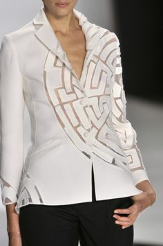 Chado Ralph Rucci Spring 2010 - Details From Style Bistro