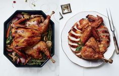 Spatchcocked Turkey with Anise and Orange Recipe - Bon Appétit
