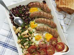 Brittiläinen aamiaisvuoka