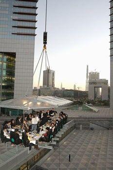 DINNER IN THE SKY – UAE, Dubai #Dinner #Sky #Dubai