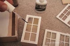 Paper Doll Miniatures: Upper Cabinets