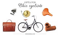 chic cycling gifts - click to view more