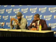 LeBron James, Dwyane Wade speak after Miami Heat's Game 3 win over Pacers