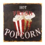 Home Theater Decor: Hot Popcorn Canvas Print Movie Theater Rooms, Home Theater Decor, Home Theater Seating, Movie Rooms, Kitchen Chalkboard, Media Furniture, Home Theater Speakers, Square Canvas, Room Themes