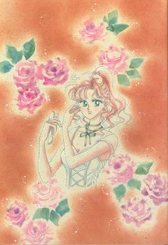 木野まこと / セーラージュピター Makoto Kino / Sailor Jupiter : 美少女戦士セーラームーン原画集 Bishoujo Senshi Sailor Moon Original Picture Collection Vol.2 by Naoko Takeuchi