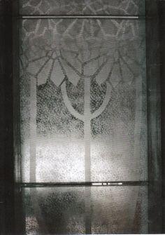 """titolo:""""Nevicata"""" pittura  su vetro,particolare. cm100x220. Created by Elvira chiodino."""